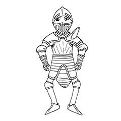 Emse als Ritter