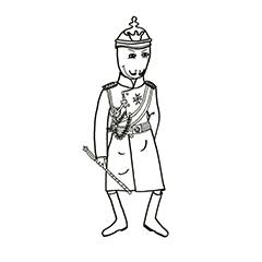 Emse als Kaiser