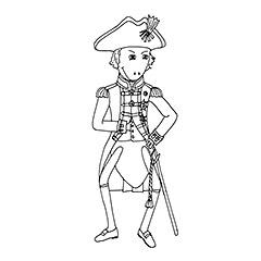 Emse als Admiral Nelson