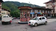 Verkehrslenkung in Bhutan