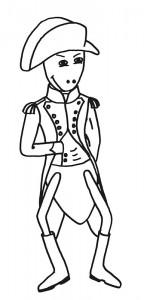 Emse als Napoleon Bonaparte