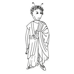 Emse als Ceasar